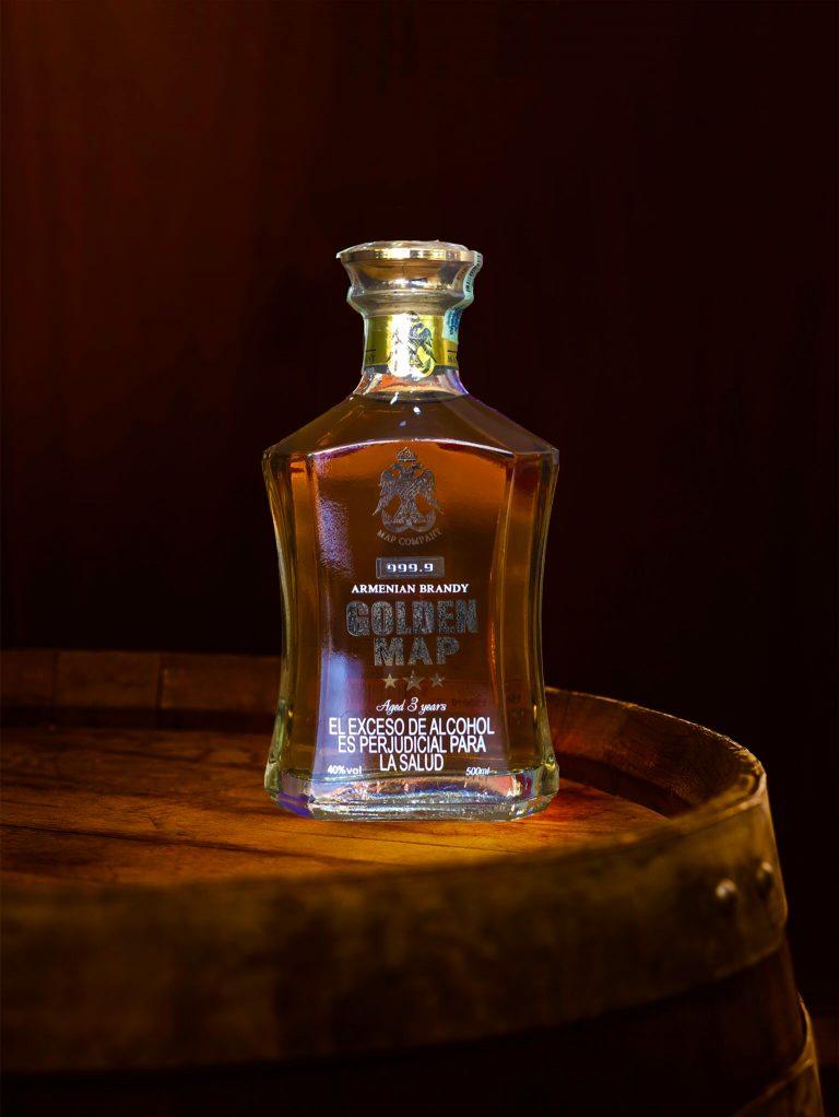 El mejor brandy en colombia Golden Map
